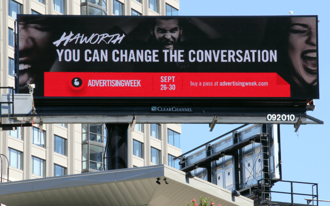 Advertising Week Called Out Agencies by Name in 6 Cities Ahead of This Week's Event