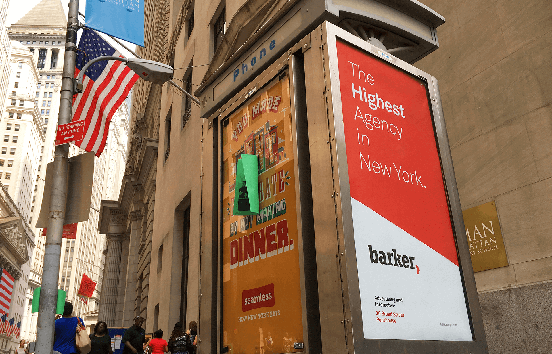 BARKER's Self-Promoting OOH Ads Attract Attention-And Thieves